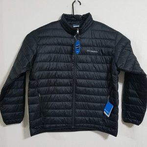 NEW Columbia Mens XXL 2X Black Puffer Jacket Coat